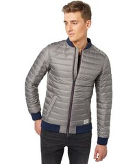 Jacke light puffer bomber jacket TOM TAILOR DENIM grau L,M,S,XL,XXL