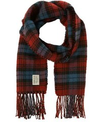 Damen Schal doubled check wool look scarf TOM TAILOR DENIM rot OneSize