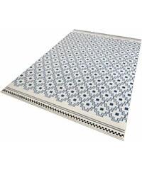 Teppich Zala Living Cubic gewebt ZALA LIVING blau 3 (B/L: 140x200 cm),4 (B/L: 160x230 cm),6 (B/L: 200x290 cm)