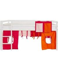 Kinder Vorhang-Set Multicolor (2-tlg.) HOPPEKIDS rosa