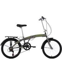 Faltrad 20 Zoll 6 Gang Shimano-Tourney-Kettenschaltung Cityfold KS CYCLING grau RH 27