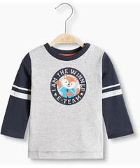 Esprit T-shirt à imprimé sportif, 100 % coton