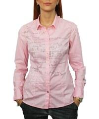 Dámská košile Soccx SPI-1609-5463 růžová