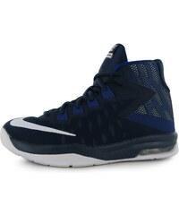 Basketbalové boty Nike Air Devosion Shoes dět. námořnická modrá/bílá