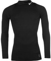 Termo tričko Nike Pro Warm Neck pán. černá
