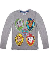Paw Patrol Langarmshirt grau in Größe 98 für Jungen aus 90 % Baumwolle 10 % Viskose