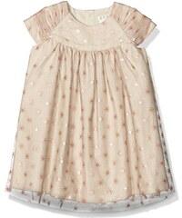 Mamas & Papas Baby-Mädchen Kleid and Foil Star Print Dress Pink