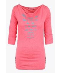 SAM 73 Dámské tričko s efektním výstřihem WT 602 pink - růžová
