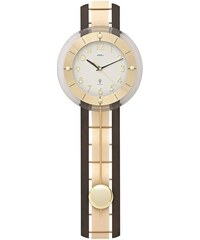AMS Kyvadlové nástěnné hodiny 5282/1 AMS řízené rádiovým signálem 68cm