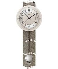 AMS Luxusní kyvadlové nástěnné hodiny 5216 AMS řízené rádiovým signálem 66cm