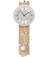 AMS Luxusní kyvadlové nástěnné hodiny 5214 AMS řízené rádiovým signálem 66cm