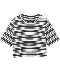 MANGO KIDS T-Shirt À Rayures Côtelé