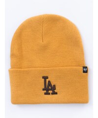 47 Brand Los Angeles Dodgers Heymaker Cuff Knit Wheat