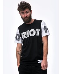 Patriotic Riot Black White