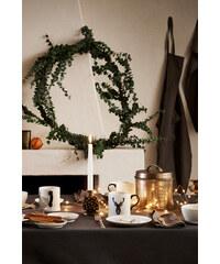 H&M Vánoční porcelánový talíř