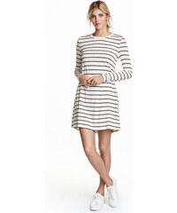 H&M Žerzejové šaty, dlouhý rukáv