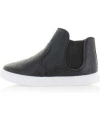 Smith's Černé hadí kotníkové boty Colos