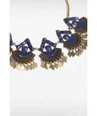 Collier femme plastron perles métal Métal Plastique - Femme Taille TU - Bonobo