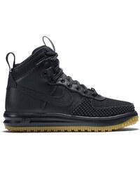 Nike Lunar Force 1 - High Sneakers aus Leder - schwarz