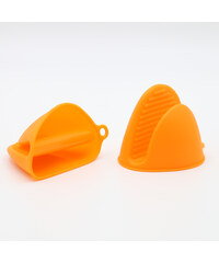 Lesara Ofenhandschuhe aus Silikon - Orange