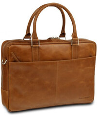"""Kožená taška dbramante1928 Rosenborg Business Bag 14"""" Golden Tan (BG14GT000425)"""