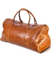 Cestovní kožená taška dbramante1928 Kastrup Weekender Bag - Golden Tan (WK00GT000470)