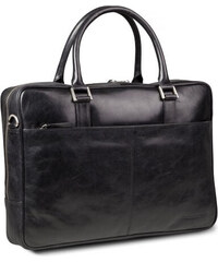 "Kožená taška dbramante1928 Rosenborg Business Bag 16"" Black (BG16GTBL0527)"