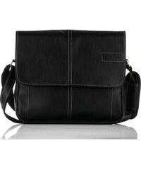 Messenger bag Solier S15 černý