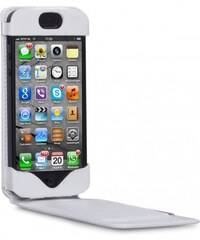 dbramante1928 Flip-Down pouzdro na iPhone 5 - Smooth White