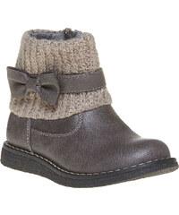 MINI B Dětská obuv s pleteným lemem