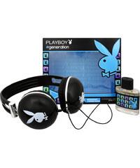 Playboy Generation for Men - toaletní voda s rozprašovačem 50 ml + sluchátka