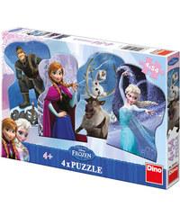 Dino Puzzle Frozen 4 x 54 dílků