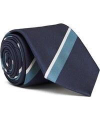 GANT Diamond G Cravate à Rayures Regimental - Marine