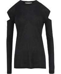 Iro Longsleeve mit Cut-outs in Anthrazit