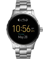 Fossil Q Smartwatch Marshal Touchscreen Stahl FTW2109