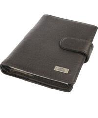 Kožená peněženka na vizitky a doklady Tony Perotti-1424A-hnědá