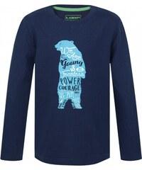 Dětské triko Loap IBSEN modrá