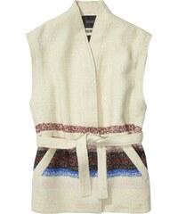 Scotch&Soda smetanová vesta s barevnými motivy