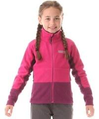 Nordblanc Dívčí fleecová mikina Muss - růžová