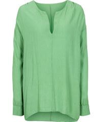 RAINBOW Tunique vert manches longues femme - bonprix