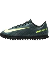 Nike Performance MERCURIAL VORTEX III TF Chaussures de foot multicrampons seaweed/volt/hasta/white/metallic silver