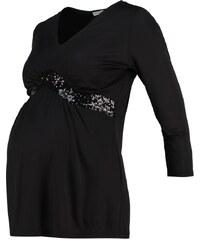 Anna Field MAMA Tshirt à manches longues black