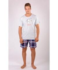 Gazzaz Pánské pyžamo šortky Sleepwalker
