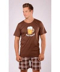 Gazzaz Pánské pyžamo šortky Pivo