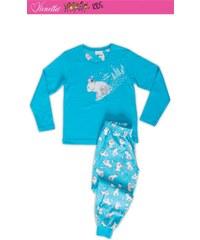 Vienetta Kids Dětské pyžamo dlouhé Méďa na saních