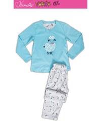 Vienetta Kids Dětské pyžamo dlouhé Ovečka