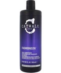 Tigi Catwalk Fashionista Violet Conditioner 750ml Kondicionér na barvené, poškozené vlasy W Pro blond vlasy