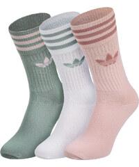 adidas Crew Socken white/grass/pink