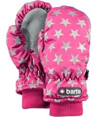 Barts Gants enfant - Moufles imperméable rose étoiles du 1 au 6 ans
