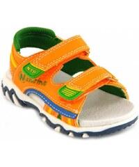 Naturino Sandales enfant sandales petit garçon orange 383